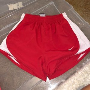 Red XS Nike shorts